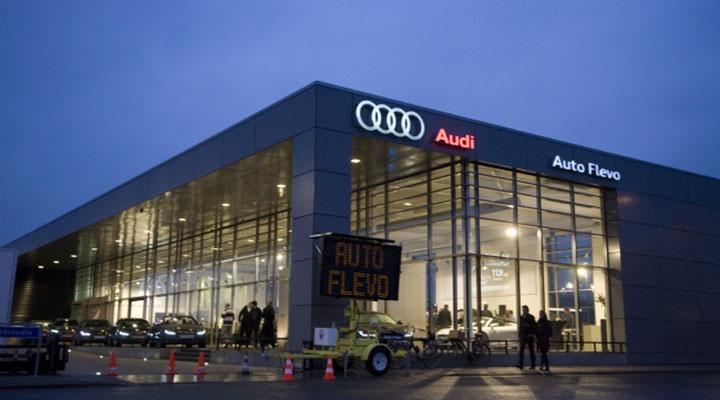 Van Dijk Lijmwerken Portfolio Auto Flevo Audi Harderwijk